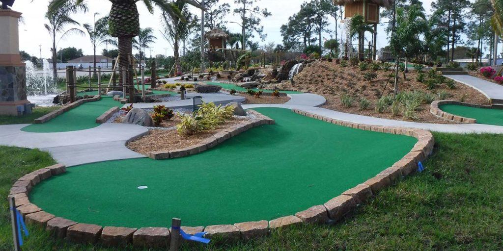 Concrete Mini Golf