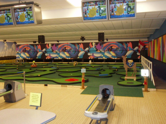 Bowling center solutions at owosso bowling center mini golf course