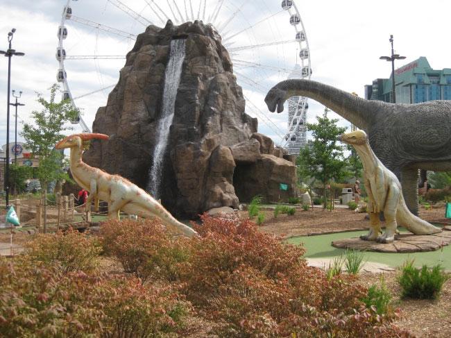 Dinosaur Adventure Golf Niagara Falls, CA